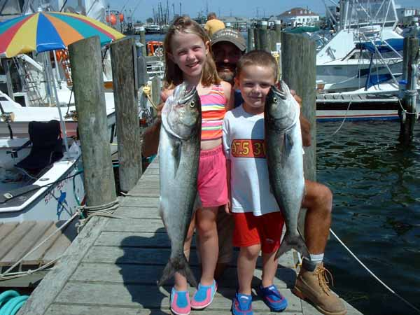 These kids are a lot of fun to take out, they love catching fish.